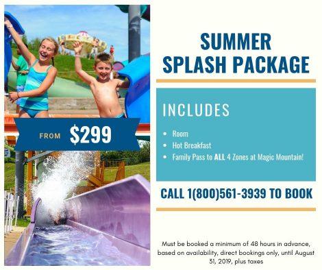 Summer Splash Package